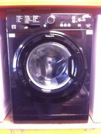 Hotpoint washing machine (black)
