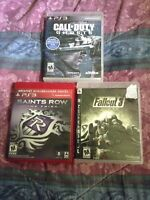 Selling 3 game for ps3