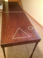 Custom Made Beer Pong Table