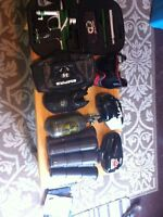 Paintball set etek ego empire mask pods air tank
