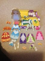 Magnetic wooden doll