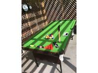6ft snooker pool table
