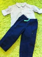 NWT Carter's 12 month 2 pc outfit