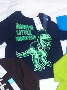 Baby boys children's place brand new with tags onesie/shirt lot Windsor Region Ontario image 4
