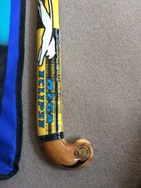Hockey stick and case