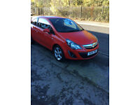 VAUXHALL CORSA 1.2 PETROL SXI 3 DOOR HATCHBACK 1 PREVIOUS OWNER ALLOYS 2014-14