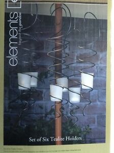 Set of six spiral candle holders Kitchener / Waterloo Kitchener Area image 1