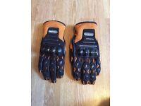 Hein gericke motorcycle gloves size medium