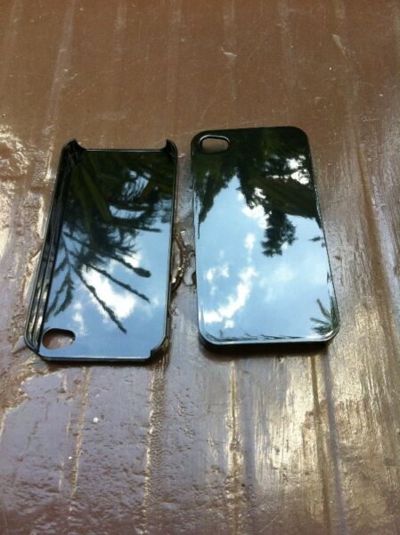 Two Brand new Iphone 4 covers black colour. Selling for $5 only