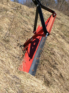 5ft 3 point hitch drag blade