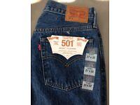 Ladies Levi 501 skinny filiforme jeans