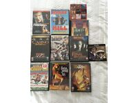 Selection of 9 DVD's and 2 CD's