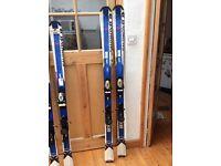 Salomon x-wing 400 skis 165cm