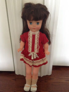 Vintage walking doll