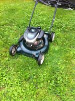 For sale  mastercraft 5 hp lawn mower
