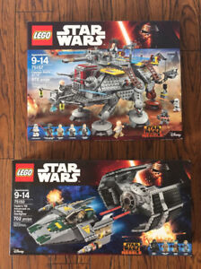 Two Lego Star Wars sets never opened