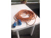 Caravan / camping electric hookup cable