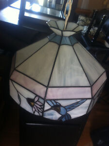 Stained Glass Ceiling Light