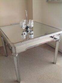 Dining table Venetian glass