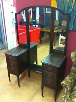 Antique vanity/make up table
