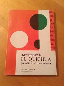 Aprenda El Quichua