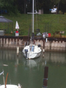 1984 Sonic 23 Sailboat With Free Dockage In Bayfield from June