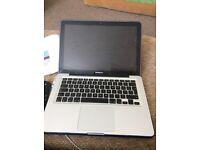 MacBook 13 inch, i5, 16 gb ram, 2tb hard drive