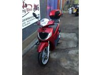 HONDA SH 125 SH125 FOR SALE 1 YEAR MOT GOOD ENGINE 1 YEAR MOT JUST HAD A SERVICE - STERLING