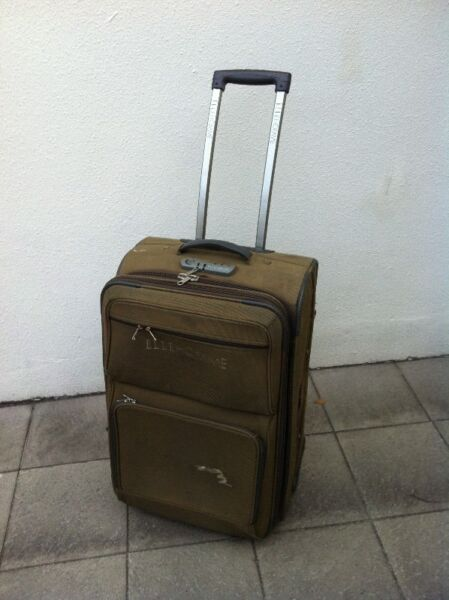 Elle Homme 26inches expandable luggage with combination lock.   In good condition.