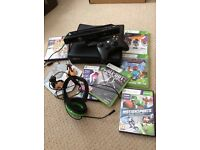 Xbox 360 s + Kinnect and 6 games