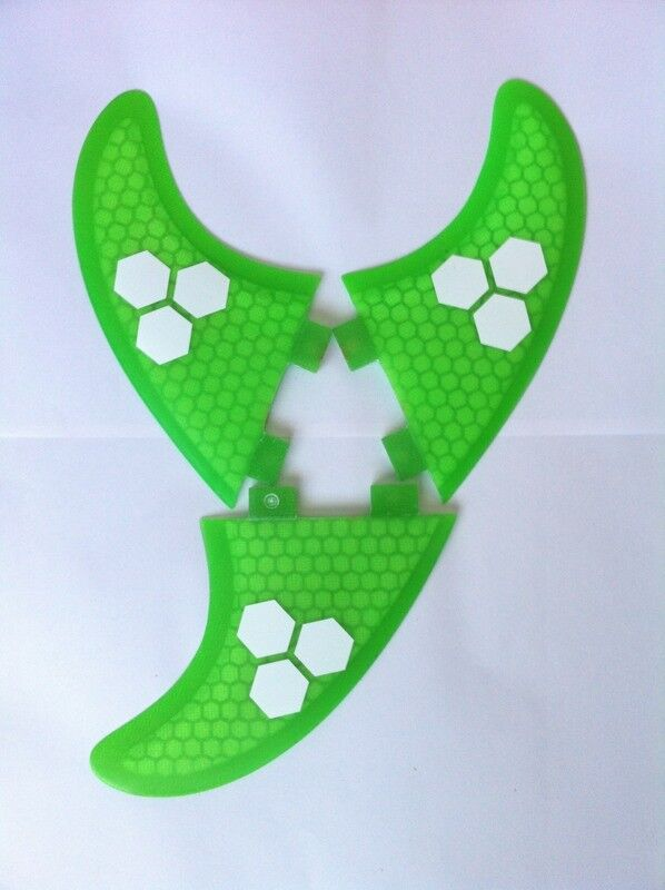 surfboard fins honeycomb g5 m5 template new set of 3 fcs fit surf