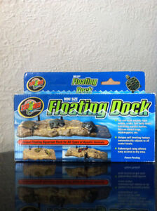 Aquarium floating dock