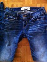 Hollister skinny jeans 0R  W24  L31 jean 10$