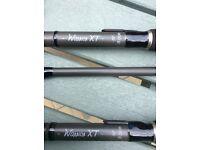 Fox Warrior XT 12ft 3lb tc Carp Rods