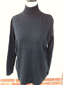 Jean-Claude Poitras Design Black Turtleneck Top Sweater Large Peterborough Peterborough Area image 2