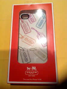 COACH IPHONE 4/4S CASE