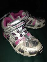 Size 13.5 girls Stride Ride running shoes