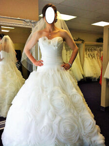 Alfred Sung Size 8 Wedding Dress