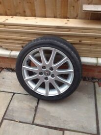 Lexus IS 200 alloy wheel
