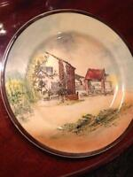 VINTAGE ROYAL DOULTON PLATE MARY ARDEN'S COTTAGE D4149