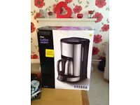 Tesco 14 cup filter coffee maker new in box