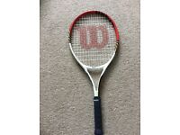 Wilson junior tennis racquet