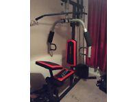 Home multi gym -weider 2980 x weight system