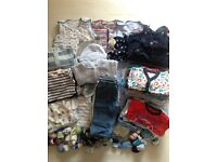 Baby boy bundle 3-6m incl 3 sleeping bags