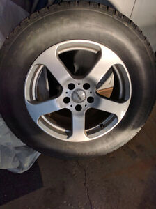 245/65/R17 Winter Tires + Alloy Rims -- Fits a Nissan Murano