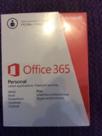 Office 365 Personal: 1 year subscription - 1 PC/Mac + 1 tablet