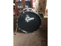 Gretsch Blackhawk 5 piece Drum Kit including soft cases