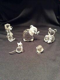 Swarovski Retired Crystal Animals