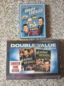 DVD Sets of 2 Classic TV and Movie collections with BONUS