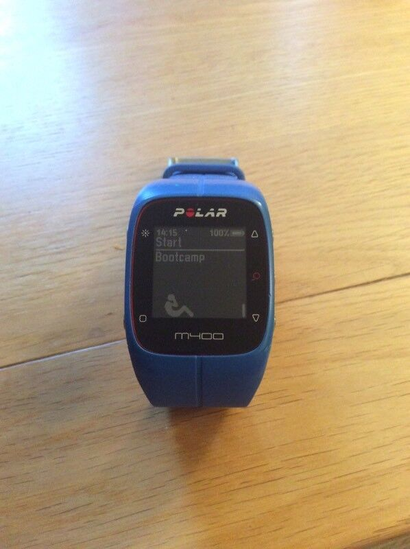 Polar M400 GPS fitness watch